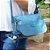 Bolsa Lateral Crinkle Azul - Imagem 2
