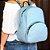 Bolsa Mochila Feminina Lisa Azul - Imagem 2