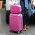 Kit Mala de Viagem com Rodinhas e Frasqueira Love Pink - Imagem 2