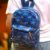 Mini Mochila Estampada Dino Azul - Imagem 2