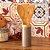 Kit de Utensílios de Bambu com Pote Soft 3 Peças Cinza - Imagem 2