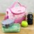 Bolsa Térmica com 2 Compartimentos Estampada Dots Rosa - Imagem 2