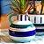 Vaso de Cerâmica Peinture Bleu - Imagem 2