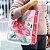 Bolsa Sacola Estampada Floral Rosa - Imagem 2
