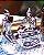 Kit Esculturas em Porcelana Yoga Prata - Imagem 2