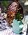 Cabeça de Buda Decorativo em Cerâmica Cobre - Imagem 2
