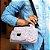 Bolsa Tiracolo Estampada em Nylon Rosa e Preto - Imagem 2