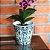 Vaso de Cerâmica Decorativo Arabescos - Imagem 2