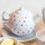 Bule com Xícara e Pires de Porcelana Coração - Imagem 3