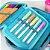 Estojo 100 Pens Crinkle Manchinhas Azul Claro - Imagem 3