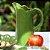 Jarra de Cerâmica Banana Leaf Verde - Imagem 2