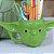 Caneca Decorativa de Porcelana 3D Star Wars Yoda - Imagem 2