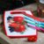Tábua de Corte de Plástico Tomates Vermelha - Imagem 2