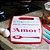 Tábua de Corte de Plástico Ingrediente Amor Vermelha - Imagem 2