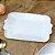 Mini Bandeja de Cerâmica Retangular Laço Branco - Imagem 2