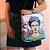Bolsa Mochila Estampada Frida Kahlo Flor de Maracujá - Imagem 2