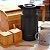 Garrafa Térmica Wood Fashion Preta 1 Litro - Imagem 2