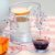 Kit 4 Xícaras de Café de Vidro com Suporte Coração - Imagem 2