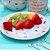 Kit 4 Pratos de Sobremesa de Porcelana Borboleta - Imagem 2