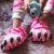 Pantufa 3D Alice no País das Maravilhas Gato Risonho - Imagem 2