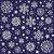 Tecido Tricoline 100% Algodão Natal Comum - 1275-60 - Imagem 1