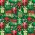 Tecido Tricoline 100% Algodão Natal Comum - 6168-02 - Imagem 1