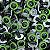 Olho Amigurumi Verde Tamanho 16 - Pacote Com 10 Pares - Imagem 1