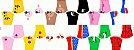 Tecido Tricoline Estampado Máscaras 100% Algodão Peripan - COR 105 - 1,00x1,50m - Imagem 3