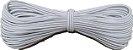 Elástico Roliço Branco 10R São José | 2,5 mm - Peça com 10 Metros - Imagem 1