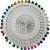 Disco de Alfinete Cabeça de Plástico - 40 Alfinetes - Imagem 1
