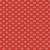 Tecido Tricoline Estampado Coroas Vermelho 100% Algodão - COR 169 - 1,00x1,50m - Imagem 1