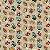 Tecido Tricoline Estampado Carros 100% Algodão - COR 230 - 1,00x1,50m - Imagem 1