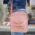 Bolsa de lona pequena de laço com macaco - Imagem 1