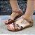 Sandália em Couro Marmore/colorido 1614 - Imagem 1
