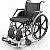 Cadeira de Rodas -  PL 102  - 44cm - PROLIFE - Imagem 1
