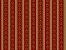 Papel de Parede Vinil Adesivo Vintage Arabesco e Lista Fundo Vermelho - Imagem 2