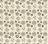 Papel de Parede Vinil Adesivo Geométrico Flores Contorno - Imagem 2
