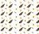 Papel de Parede Vinil Adesivo Flor Draw - Imagem 3