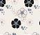 Papel de Parede Vinil Adesivo Floral Draw - Imagem 3