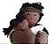 Boneco de Pano Mãe e bebê  (sexuado) - Imagem 1