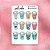 Cartela de Copos de Cafe - Imagem 1