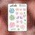 Cartela de Suculentas - Imagem 1