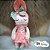 Bonecas MetooCoelha Rosê e verde Ref: 919981  - Imagem 1