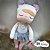 Bonecas Metoo Bailarina Cinza Ref: 922165 - Imagem 1