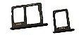 BANDEJA GAVETA SIM CARD J4 J6 J600 J8 J800 PRETO - Imagem 1