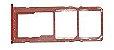 GAVETA DE CHIP A10S COR VERMELHO - Imagem 1