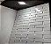 Placa 3d Auto Adesiva Brick 50x50cm Poliestireno (PVC) - Imagem 1