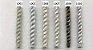 Abraçadeira p/ Cortina Pingente Luba 4093 C/ IMÃ - Imagem 2