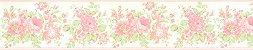 Papel De Parede Bambino's Faixa Floral Rosas 5523 - Imagem 1