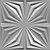 Revestimento Decorativo Placas 3D  Arezzo 1 mt² - Imagem 5